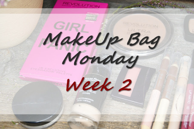 MakeUp Bag Monday - Week 2 - Makeup Revolution, Yves Rocher, Pierre Rene, Sensique, Wibo, Maybelline