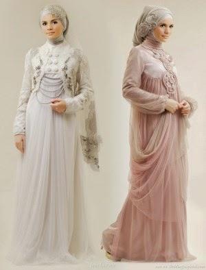 dress muslimah yang syar'i dan anggun