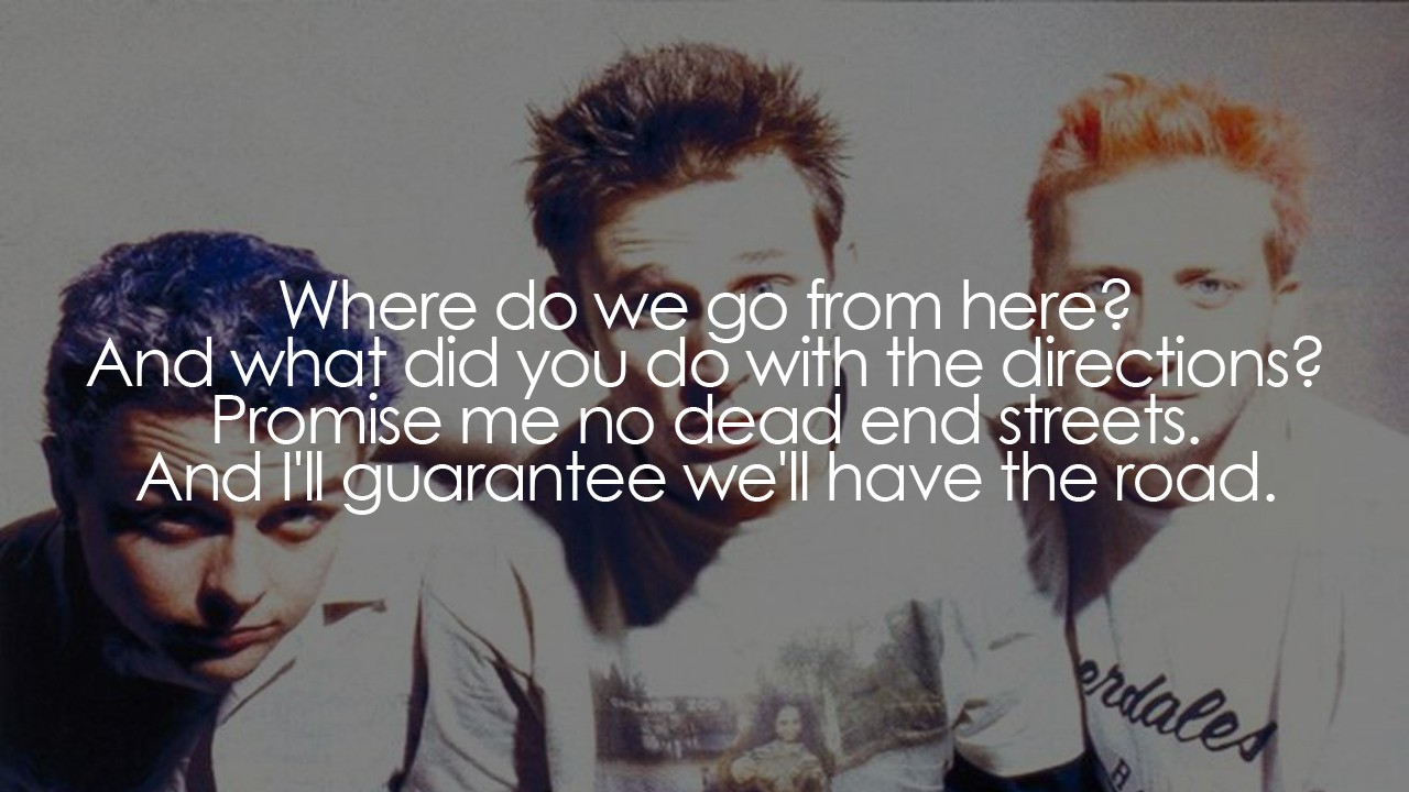 Green Day Worry Rock Motivational Song Lyrics Your