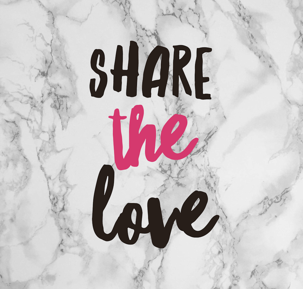Share The Love with Cu...