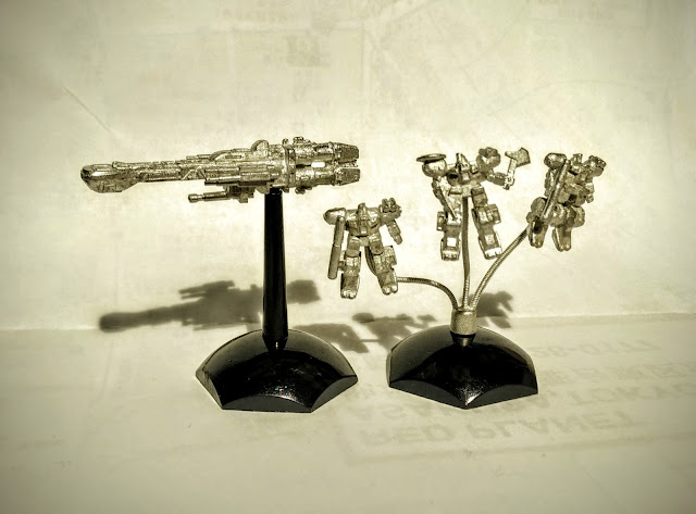 Jovian Chronicles Fleet Scale Wyvern Exo Armor