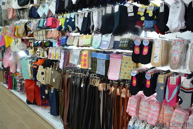 חגורות גרביים ועוד בדייסו daiso belts, socks and more