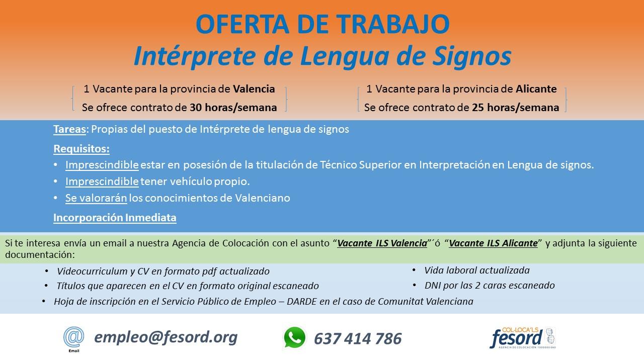 FESORD busca Interprete de lengua de signos - Valencia y Alicante 2018_ILS%2BVLC%2B%252B%2BALI