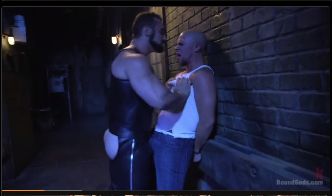 Bound gods obnoxious partier is tormented by creepy club owner