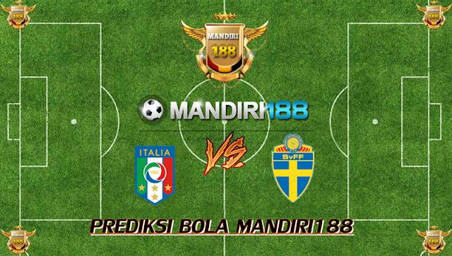 AGEN BOLA - Prediksi Italy vs Sweden 14 November 2017