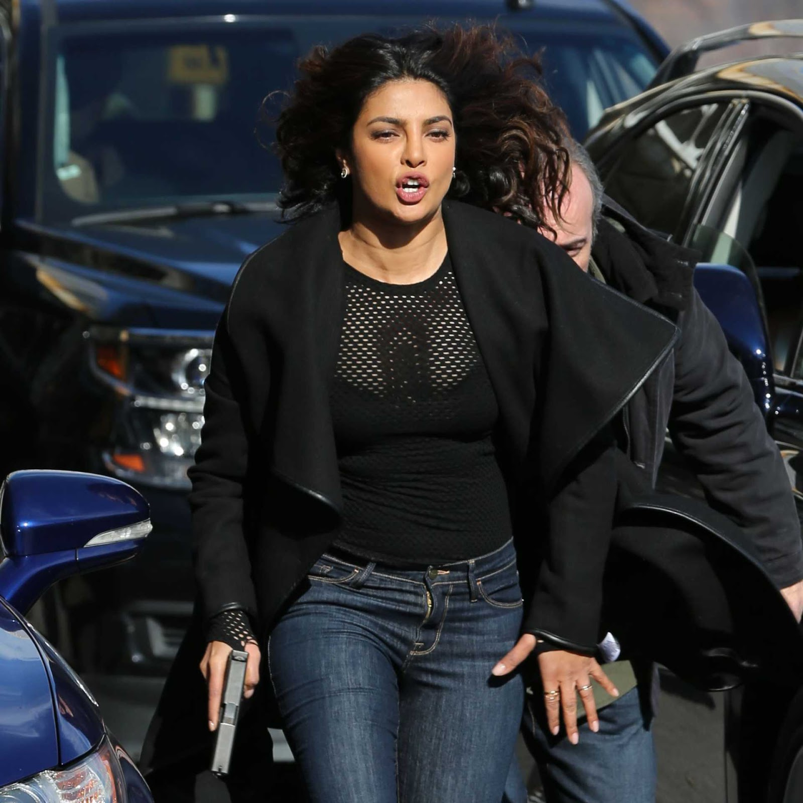 Priyanka Chopra On The Set Of Quantico Season 3 - Hot -8610