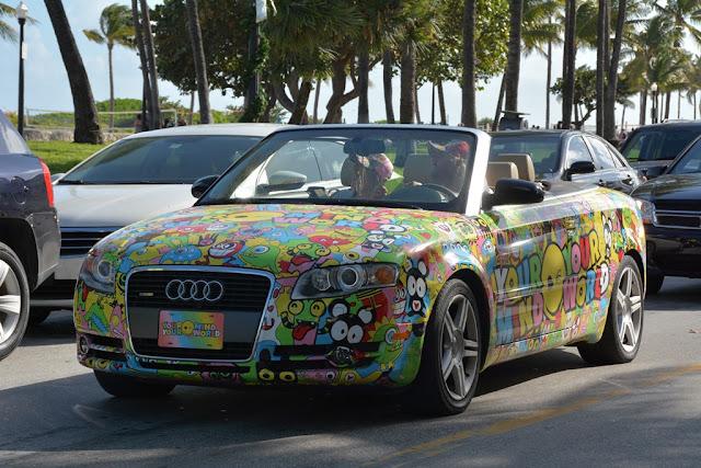 Miami Beach cars Audi