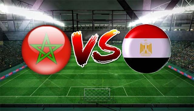 نتيجة مباراة مصر والمغرب اليوم في تصفيات كأس الأمم الأفريقية للمحليين 2018 بمشاركة أحمد الشيخ