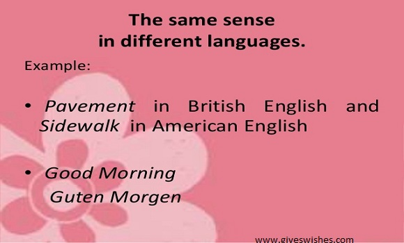 Good morning In Different Languages