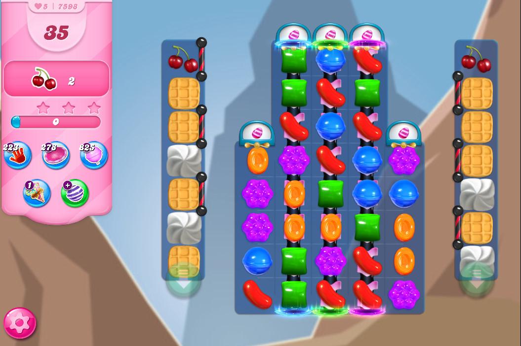 Candy Crush Saga level 7598