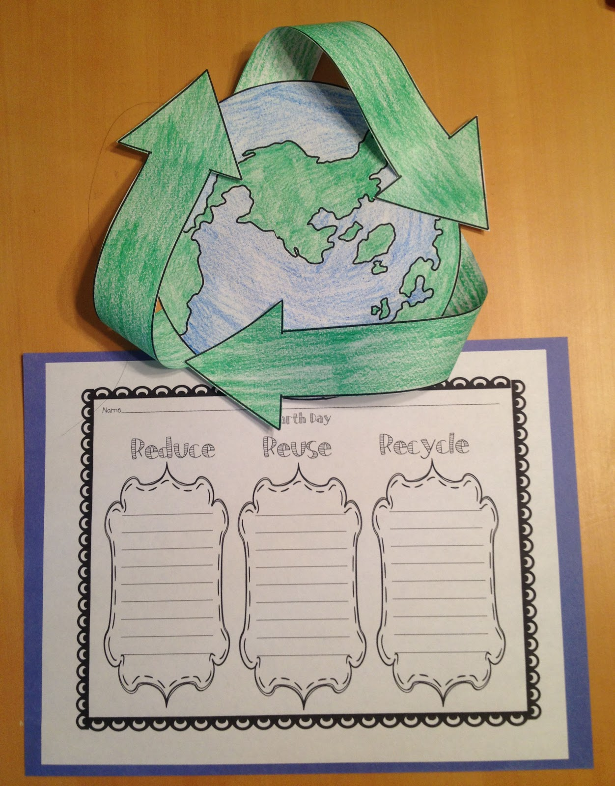 Teaching Blog Addict Earth Day Freebie