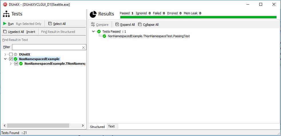 Introducing DUnitX - A new Unit Test Framework for Delphi