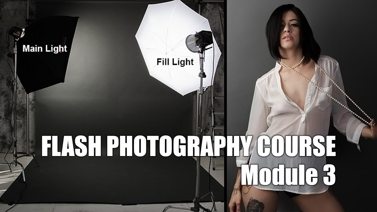 Free: Flash Photography Course For Headshots and Portraits