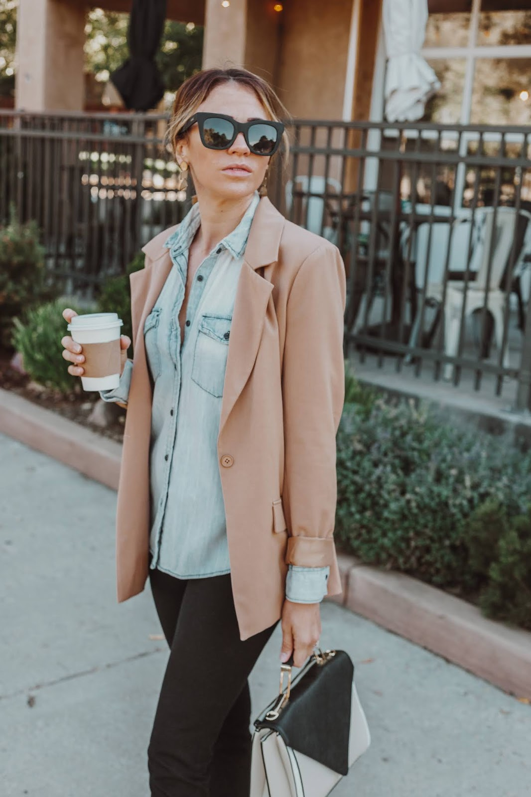 Fall Work Outfit With Items You Already Own