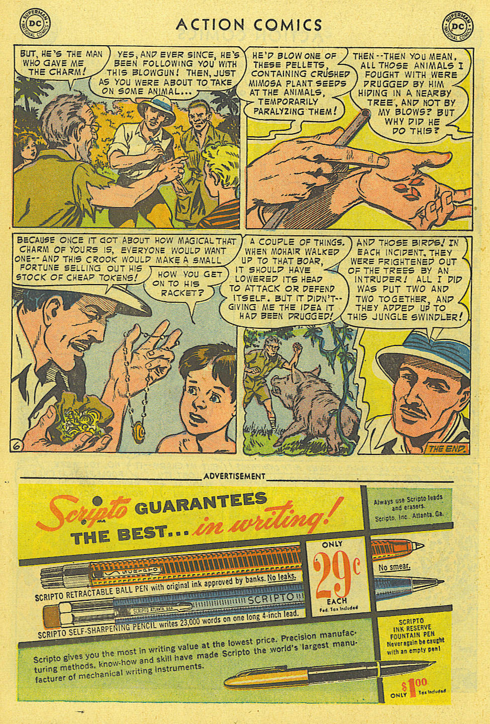 Read online Action Comics (1938) comic -  Issue #194 - 19