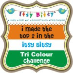 Won Itsy Bitsy Tricolor Challenge
