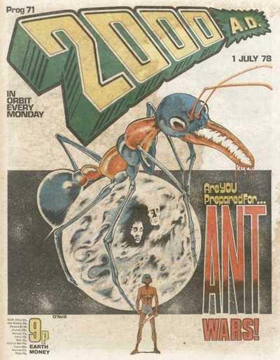 2000 AD Prog 71, Ant Wars