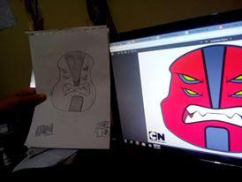 doodle atau kartun