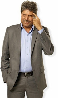Kapil Dev's pic in Ek Nayi League website
