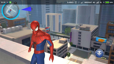 Game The Amazing Spider - Man Apk Data