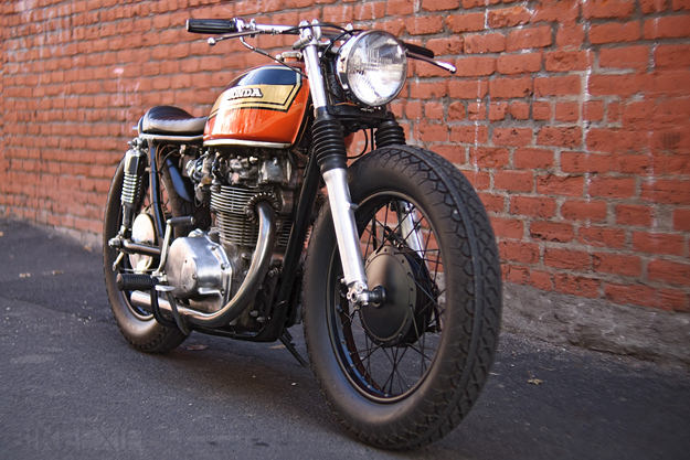 wolf bikes honda cb450 cafe racer. Black Bedroom Furniture Sets. Home Design Ideas