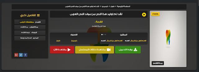 شكل داخل المواضيع في قالب عبدو موفي