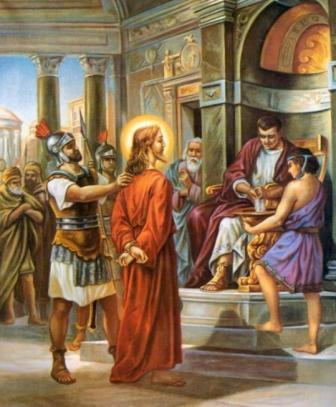 Resultado de imagem para imagem da condenação de jesus