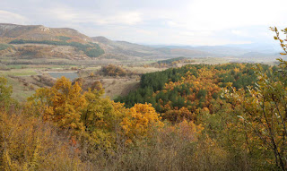A beautiful Autumnal view along the valley