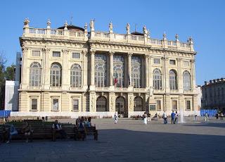 The Palazzo Madama in Piazza Castello