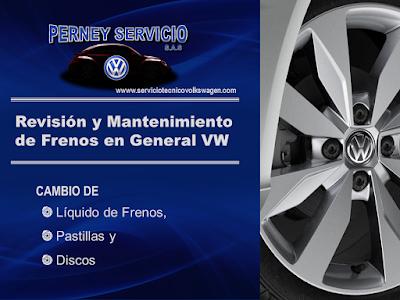 Mantenimiento Sistema de Frenos VW