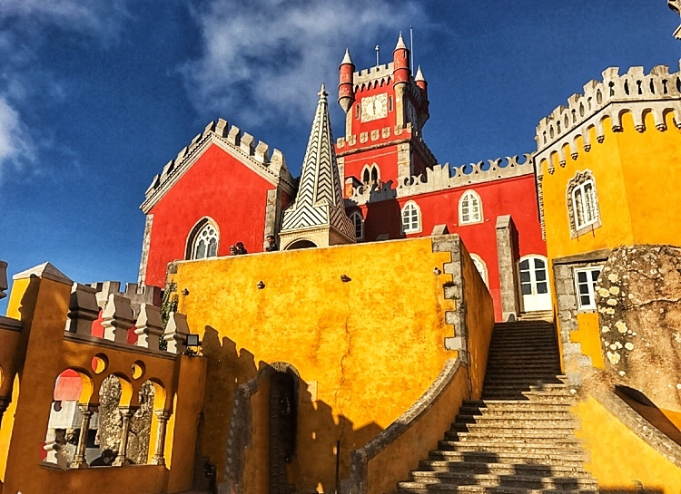 Pena Palace Lisbon is an Instagrammers Dream