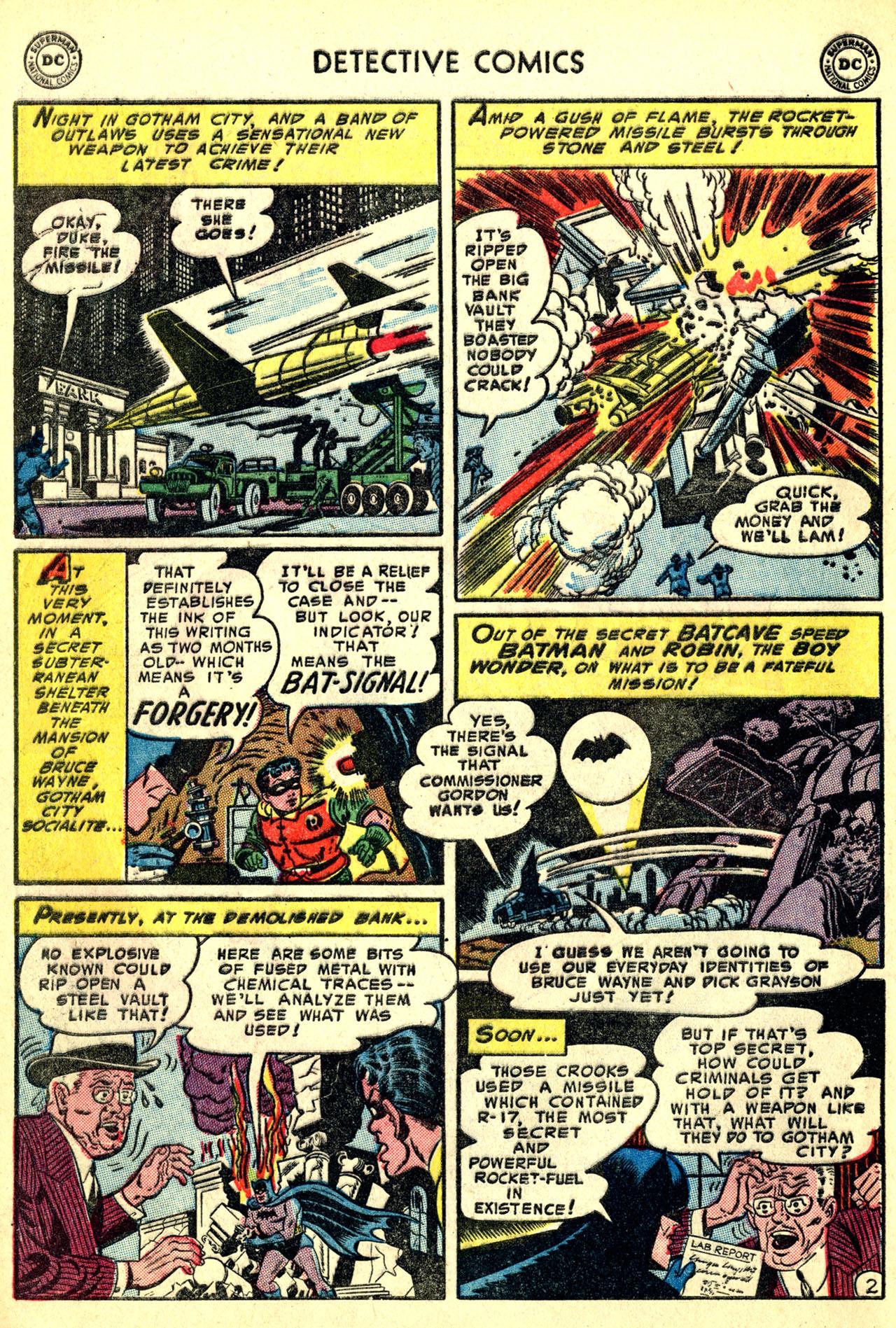 Detective Comics (1937) 208 Page 3