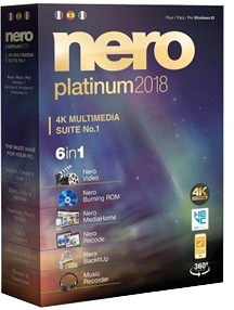 Nero Platinum 2018 Suite 19.0.07000 poster box cover