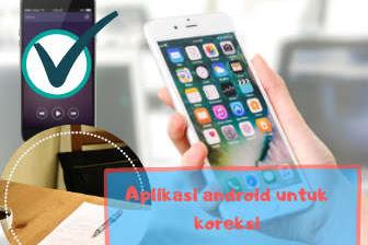 Aplikasi android untuk koreksi lembar jawaban ujian