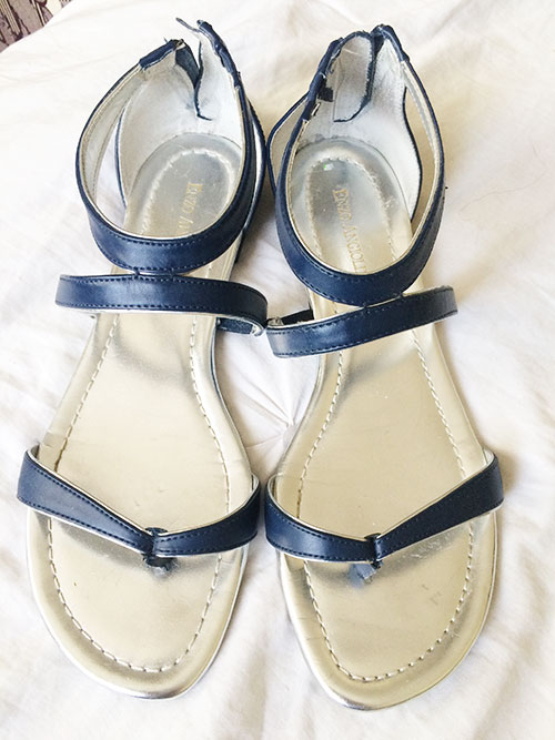 thrifted enzo angiolini sandals