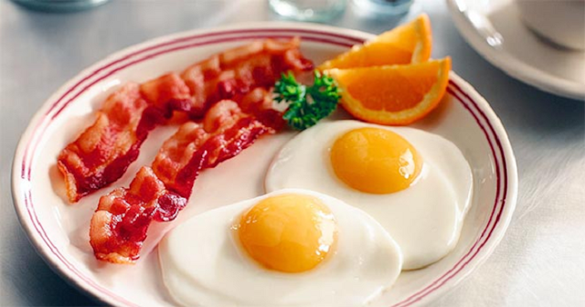 Receita de café da manhã low carb
