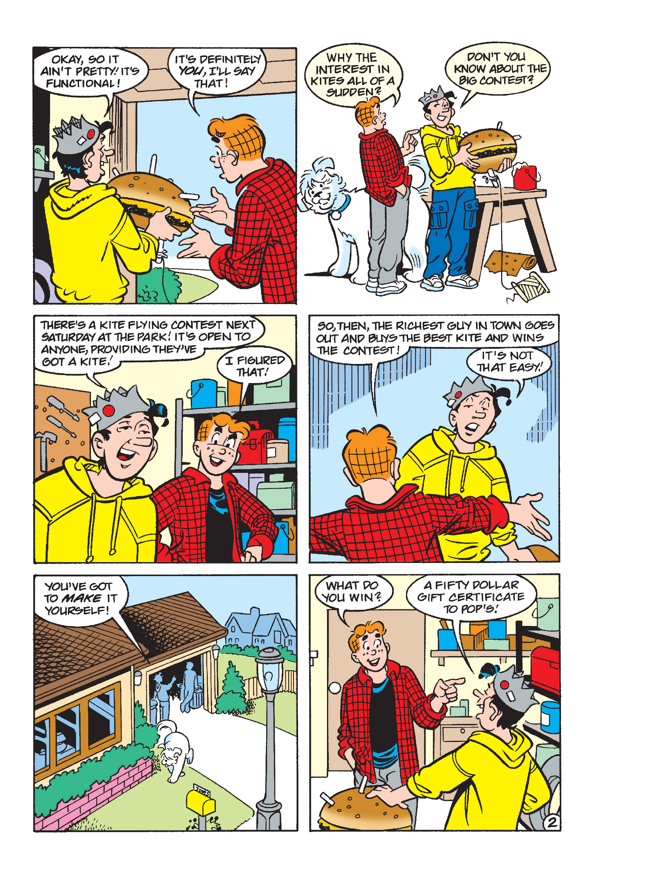 Read online Archie 1000 Page Comics Blowout! comic -  Issue # TPB (Part 4) - 127