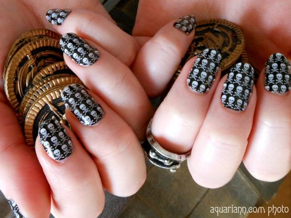 Pirate Nail Wraps by Jamberry Nails