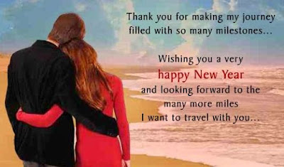 Happy New Year 2017 SMS Wishes for Husband