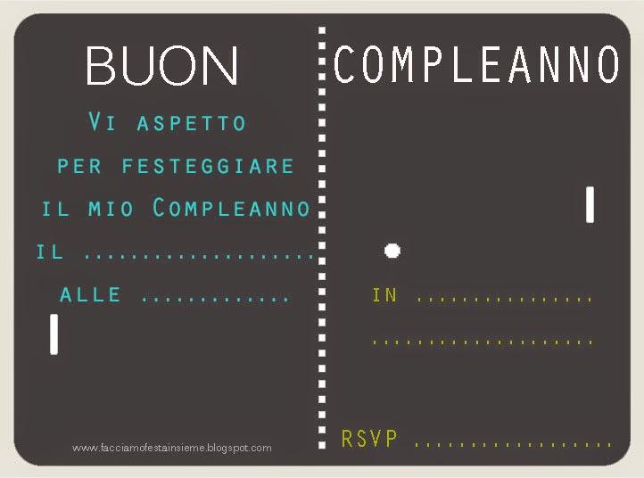 Invito Compleanno 50 Anni Stunning Biglietto Invito Pleanno Anni Con