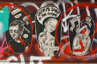Sunday Street Art : Tristan des Limbes - rue Dénoyez - Paris 20