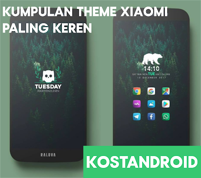 Kumpulan Tema Xiaomi Android Lengkap, Terbaru dan Paling Keren