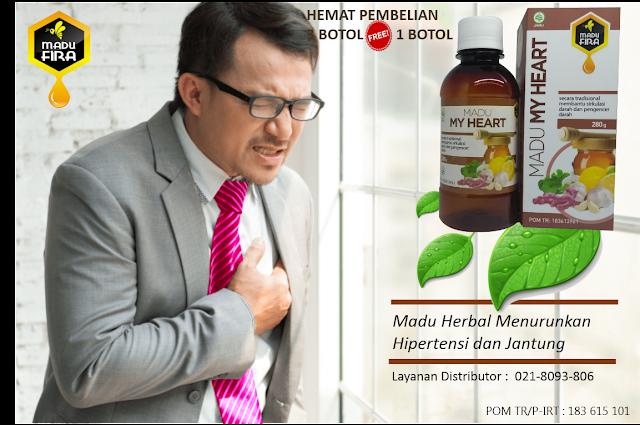Madu Herbal Hipertensi dan Jantung
