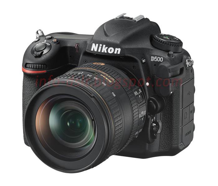Spesifikasi dan Harga Terbaru Nikon D500 2017