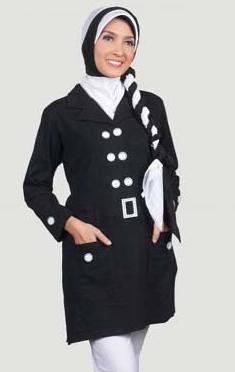 Model baju kerja muslim wanita terbaru