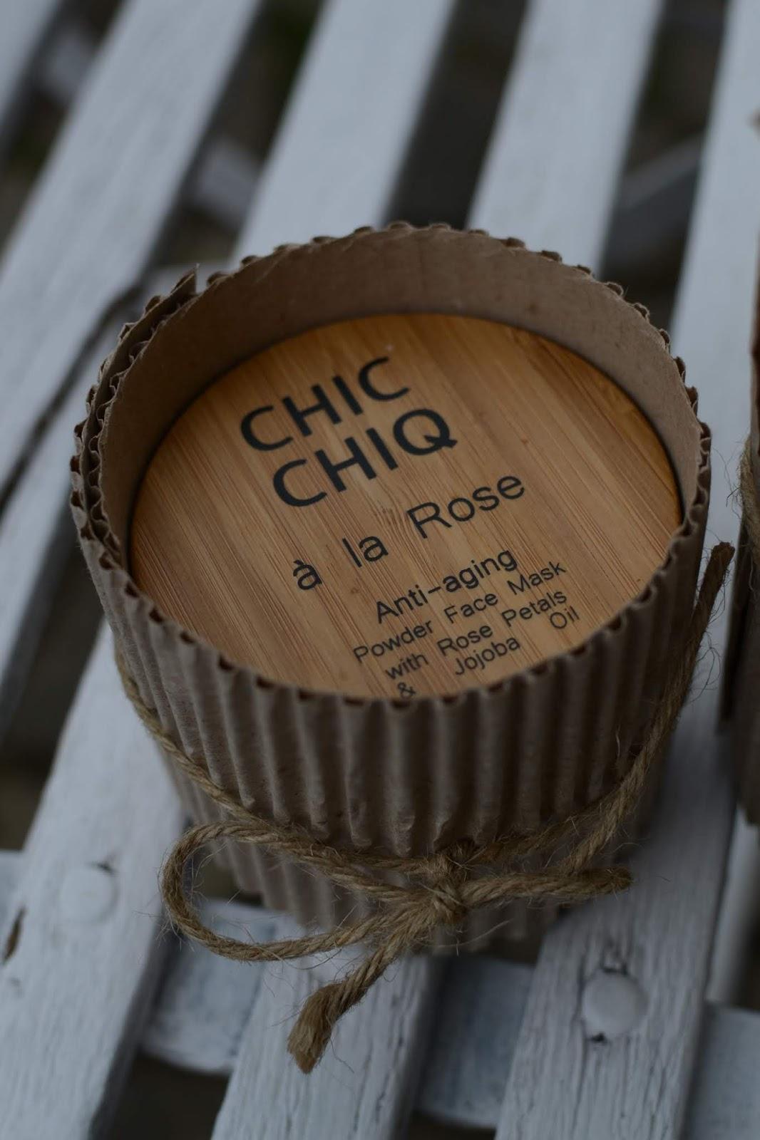 Najlepsza maseczka do twarzy EVER - Chic Chiq à la Rose