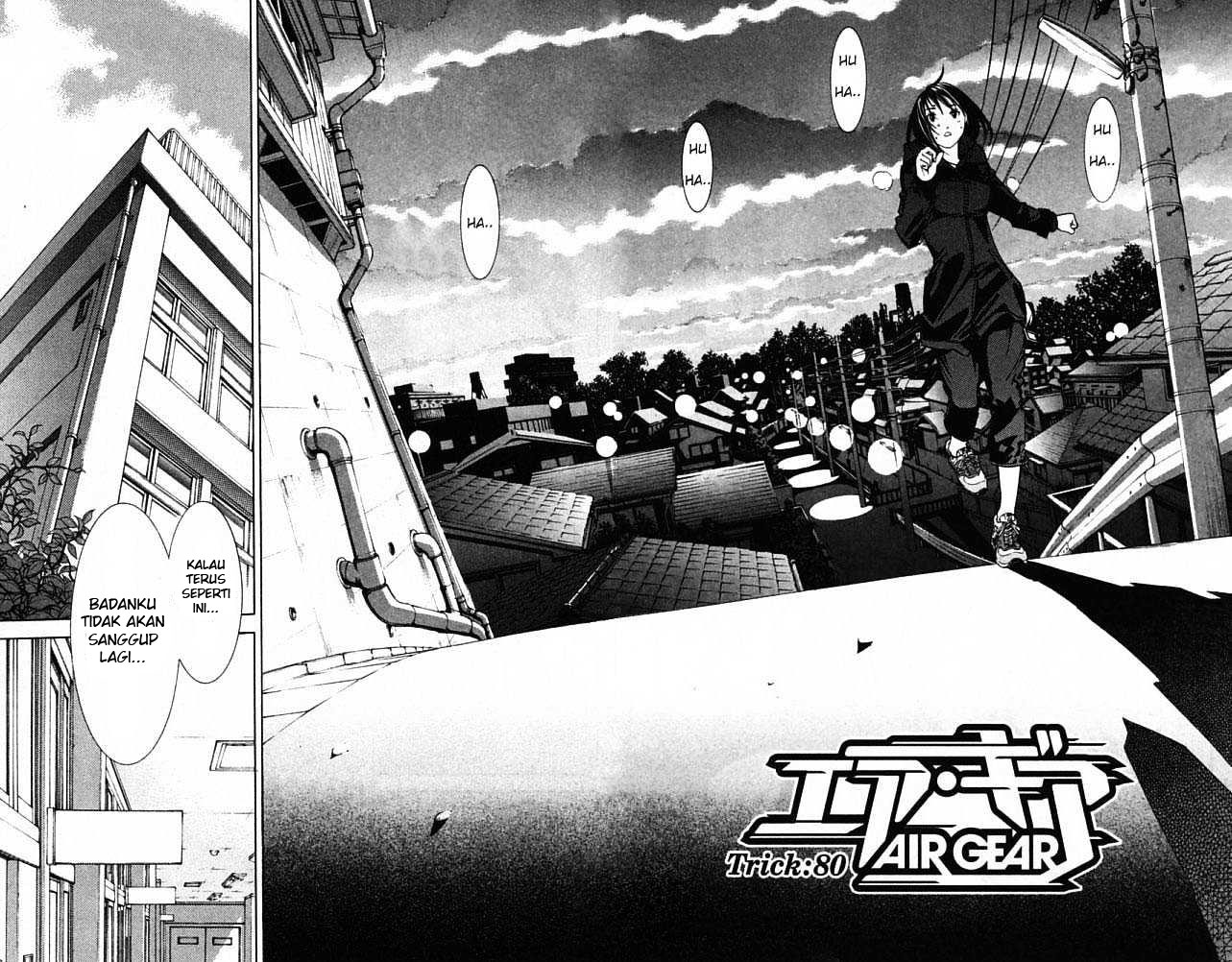 Baca Komik Air Gear Chapter 80 Bahasa Indonesia Kintamaindo