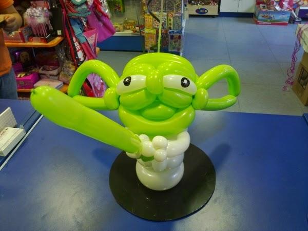 Centros de mesa Star Wars balóes