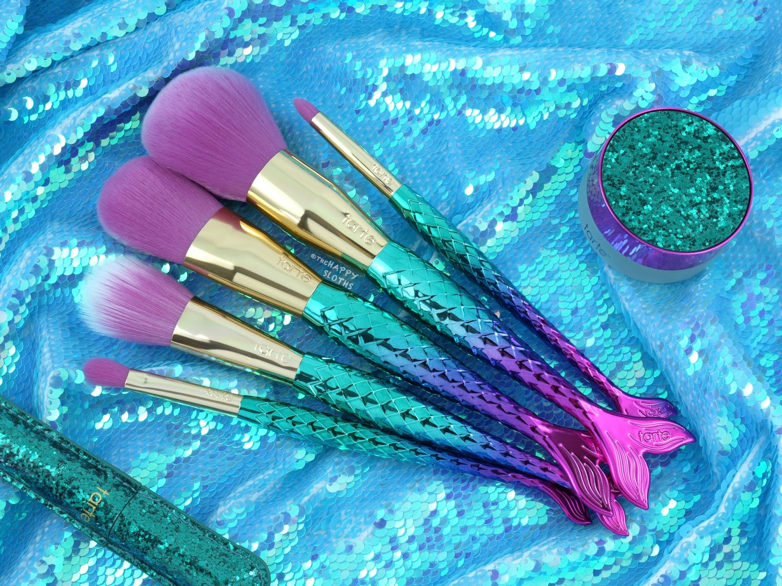 Tarte Mermaid Collection | Minutes to Mermaid Brush Set: Review