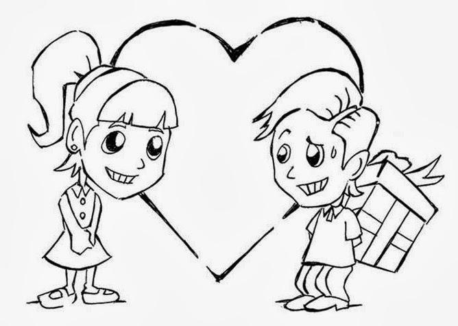 Desenhos Do Dia Dos Namorados Para Colorir